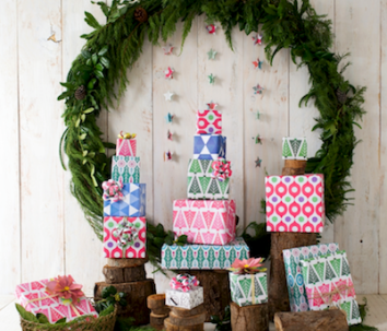 eco friendly wrapping paper holiday presents