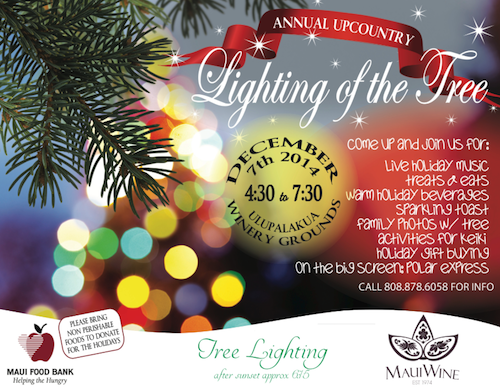 upcountry holiday tree lighting