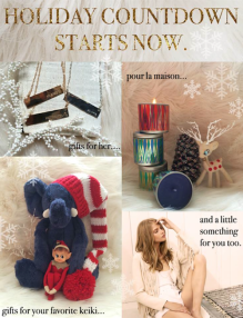 nuage bleu holiday shopping 2014