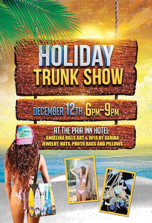 paia trunk show dec 2014