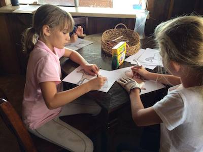 arts and crafts of course ! maui horse camp spring break 2015