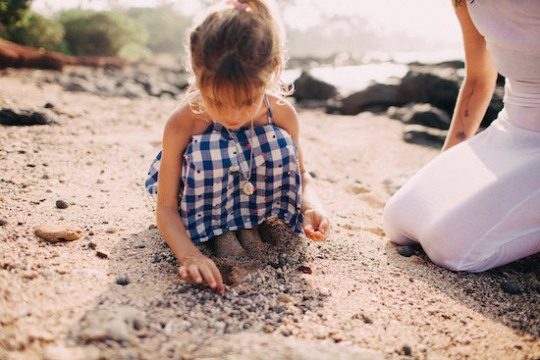 Callie Mahoney Maui Photography Child Beach Portraits