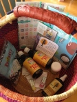silent auction gift basket ideas - locally made products!