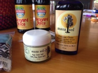 Mana sol body products will be in the Maui Made basket!