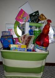 silent auction gift basket ideas - summer survival
