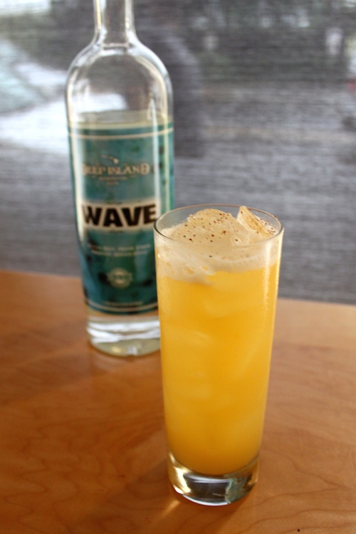 Whipcracker - made with Wave Rum and Tangerine Shrub