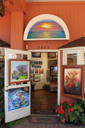 Julie Galeeva art gallery maui