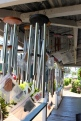 the world's (or at least makawao's) greatest collection of wind chimes at Goodies