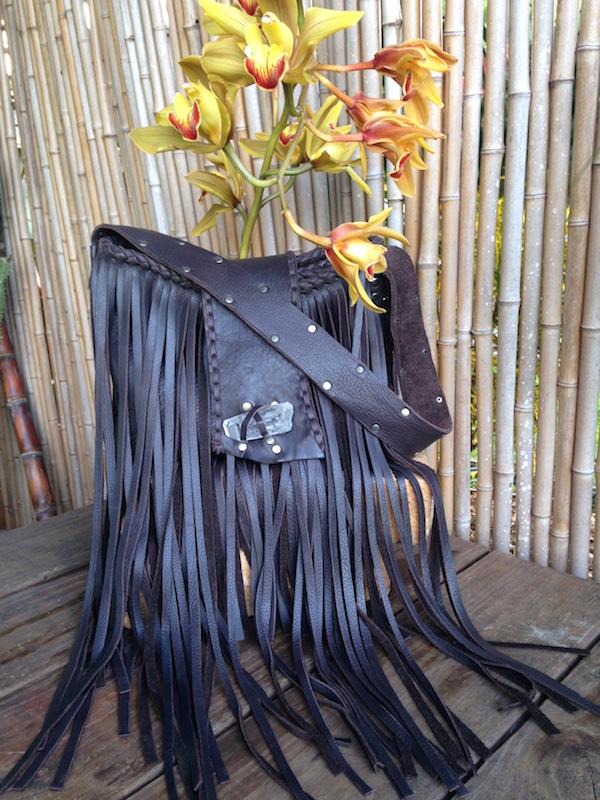 scout hobo bag leather fringe