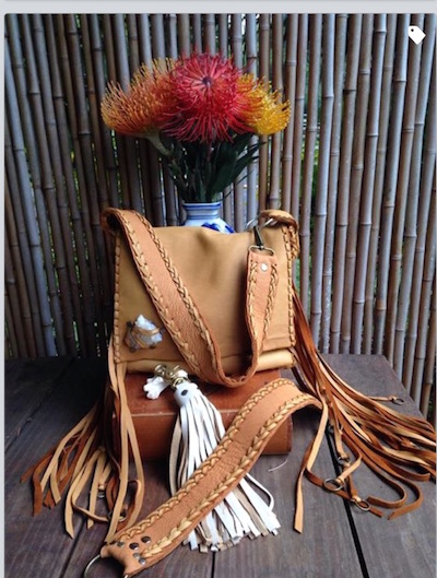 Saddle Tan Bag - Leather Bag - Hobo Scout