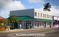 Baldwin Avenue Retail Location Rendering