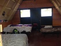 inside of camp olowalu cabins