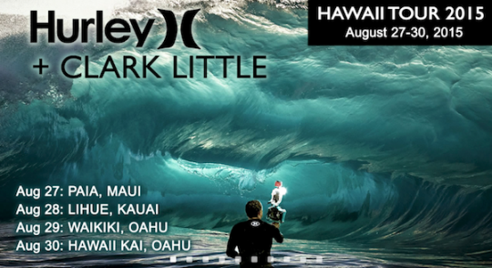 Clark Little Maui Tour 2015 - Paia, Maui, Hawaii
