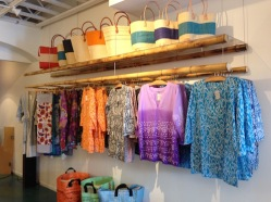 Clothing and Bags in Luna and Tide - a new retail shop in Paia, Maui, Hawaii