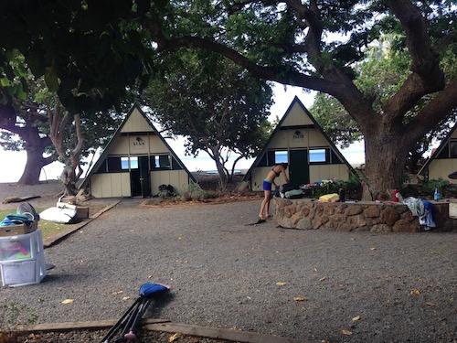 maui hawaii women camp surf yoga retreat
