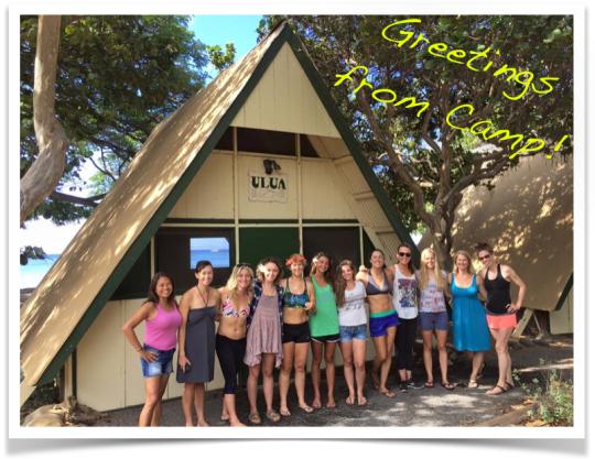 greetings from camp maui hawaii