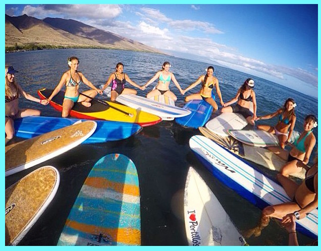 women camp maui surf retreat for women hawaii