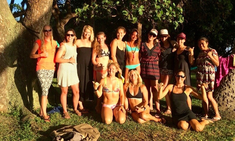 maui womens surf camp yoga retreat