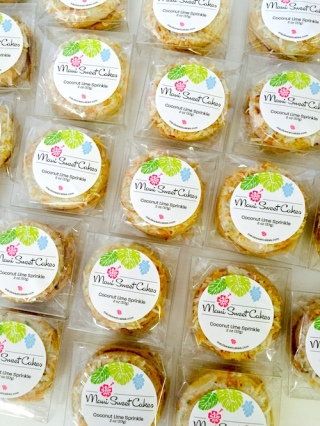 Coconut Lime Sprinkles Packaging Ideas | Branding | How to Package Cookies